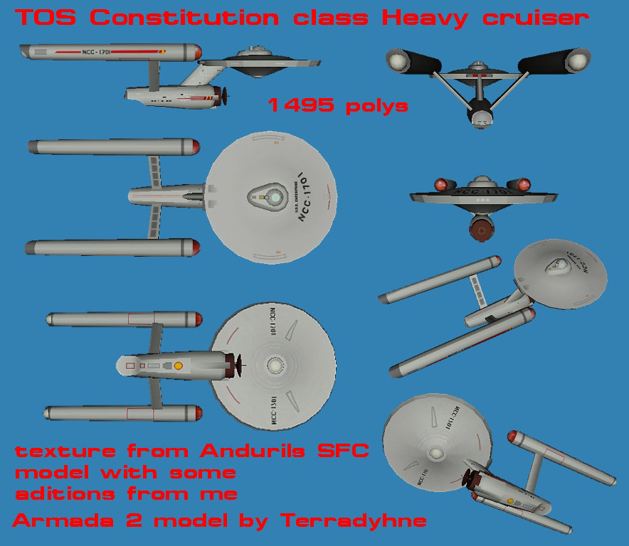 TOS Ships >> Destroyer and Tug  - Armada Fleet Command